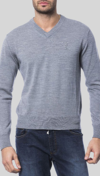 Серый пуловер Billionaire из шерсти, фото