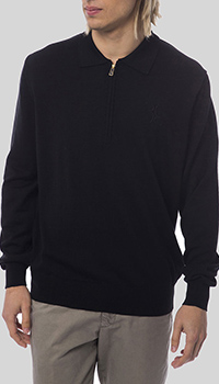 Джемпер из шерсти Billionaire черного цвета, фото
