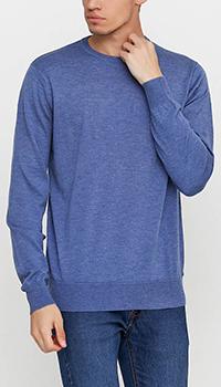 Мужской джемпер Azzaro синего цвета, фото