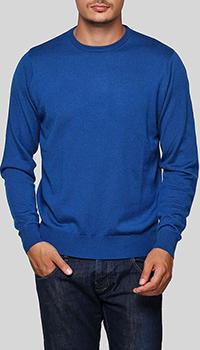 Джемпер Balmain синего цвета из шерсти, фото