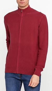 Кофта под горло Cashmere Company бордового цвета, фото