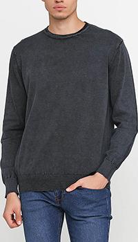 Джемпер мужской Cashmere Company из черного хлопка, фото