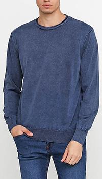 Джемпер Cashmere Company синего цвета, фото