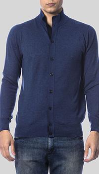 Кофта Balmain темно-синего цвета, фото