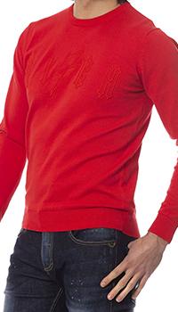 Джемпер John Richmond красного цвета, фото