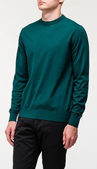 Мужской темно-зеленый свитер Bogner, фото