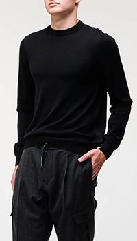 Джемпер Bogner из черной шерсти, фото