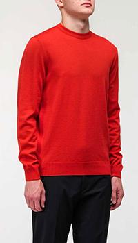 Свитер Bogner красного цвета, фото