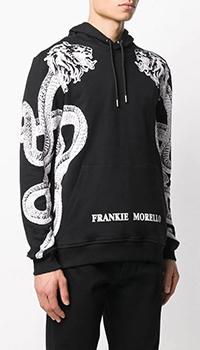 Толстовка Frankie Morello черного цвета, фото
