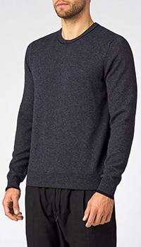 Деловой свитер Harmont&Blaine серого цвета, фото
