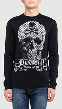 Джемпер Philipp Plein Limited Edition черного цвета, фото