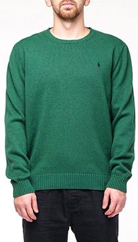 Мужской свитер Ralph Lauren зеленого цвета, фото