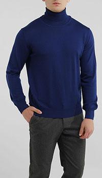 Гольф Dalmine из шерсти синего цвета, фото