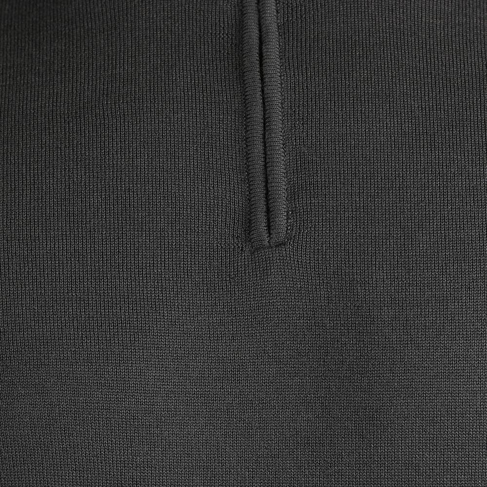 Серый джемпер Ea7 Emporio Armani с молнией