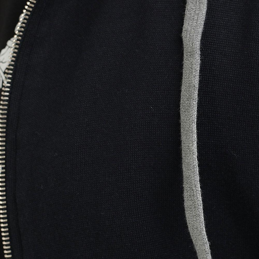 Черная толстовка Eleventy с коротким рукавом