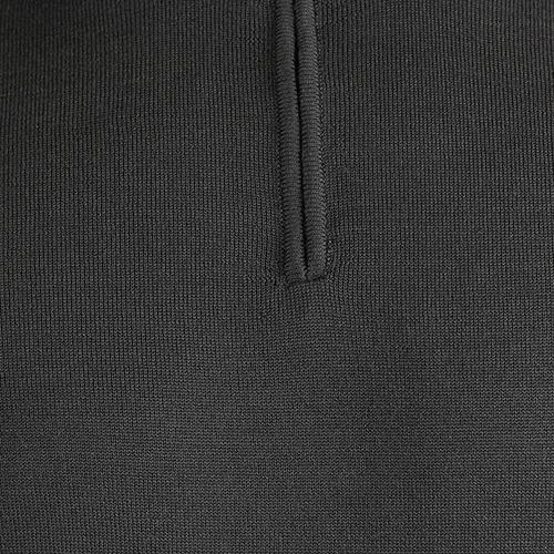Серый джемпер Ea7 Emporio Armani с молнией, фото