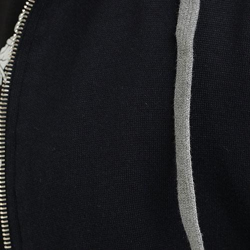 Черная толстовка Eleventy с коротким рукавом, фото