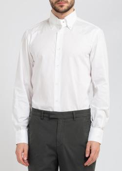 Классическая рубашка Belmonte Oro в белом цвете, фото