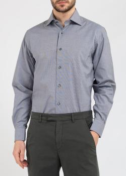 Серая рубашка Belmonte Classico с длинным рукавом, фото