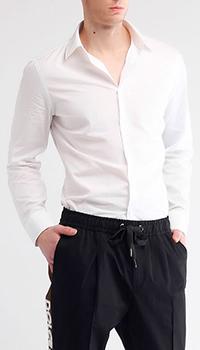 Рубашка Gucci белого цвета с вышивкой, фото
