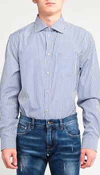 Хлопковая рубашка Gucci в полоску, фото