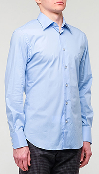Рубашка Billionaire голубая, фото