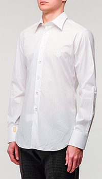 Белая рубашка Billionaire классическая, фото