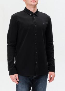 Черная футболка Bogner с фирменной вышивкой, фото