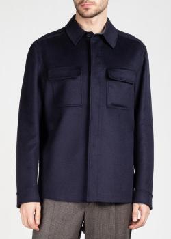 Утепленная рубашка Brioni с накладными карманами, фото