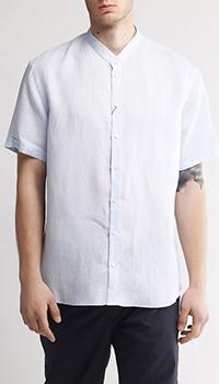 Рубашка Emporio Armani с воротником-кимоно, фото