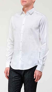 Рубашка Emporio Armani в белом цвете, фото