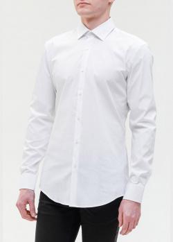 Классическая рубашка Hugo Boss белого цвета, фото
