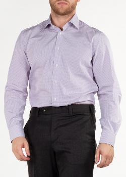 Белая рубашка Luciano Barbera в клетку, фото
