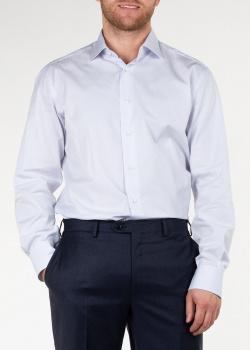 Полосатая рубашка Brioni сиреневого цвета, фото