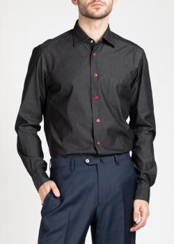 Джинсовая рубашка Kiton на кнопках, фото