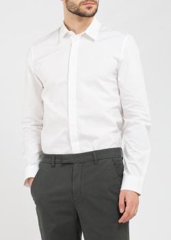 Мужская рубашка Zadig & Voltaire белого цвета, фото