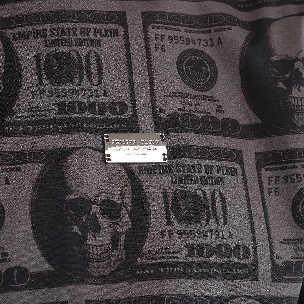 Тенниска Philipp Plein с долларовым принтом