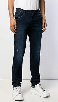 Мужские джинсы Dolce&Gabbana синего цвета, фото