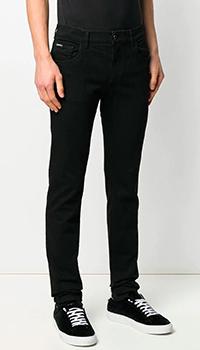 Джинсы-скинни Dolce&Gabbana черного цвета, фото