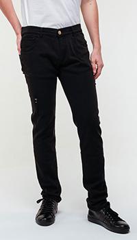Джинсы Billionaire черного цвета, фото
