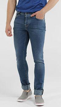 Зауженные джинсы Tramarossa синие, фото