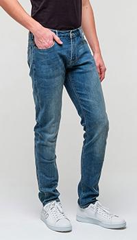 Мужские джинсы Emporio Armani темно-синие, фото