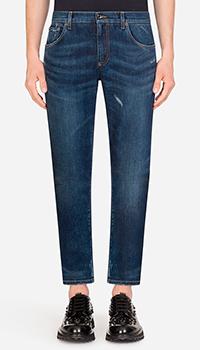 Мужские джинсы Dolce&Gabbana зауженные, фото