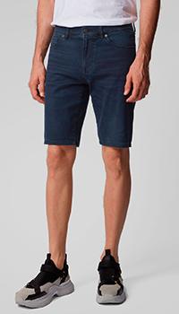 Джинсовые шорты Hugo Boss синего цвета, фото