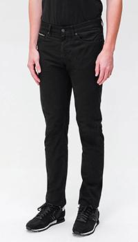 Джинсы-скинни Hugo Boss черного цвета, фото