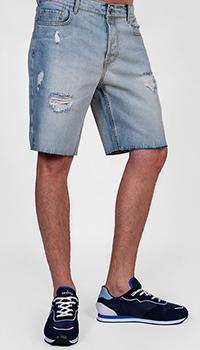Джинсовые шорты J.B4 Just Before голубого цвета, фото