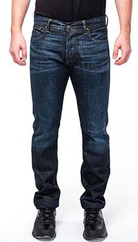 Мужские джинсы Ralph Lauren синего цвета, фото