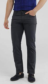 Прямые джинсы MAC темно-синего цвета, фото