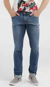 Прямые джинсы Hiltl синего цвета, фото