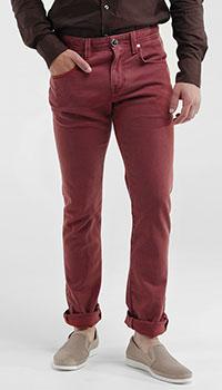 Мужские джинсы Tramarossa красного цвета, фото